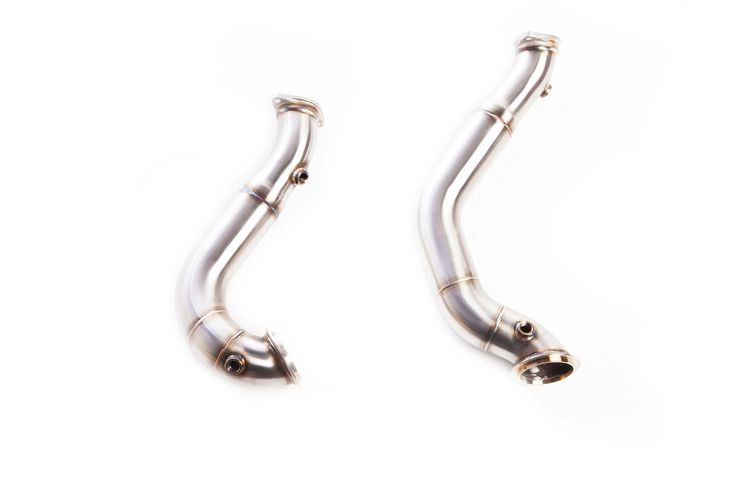GT Downpipe cat deleted for BMW N54 Engine 335i E92/E93