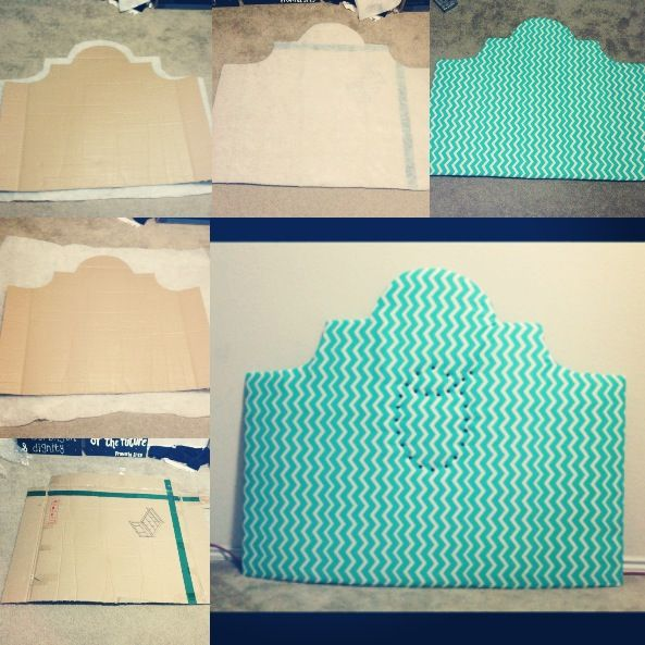 headboard & cardboard | DIY headboard out of cardboard!! | DIY, Tips, & Good Ideas