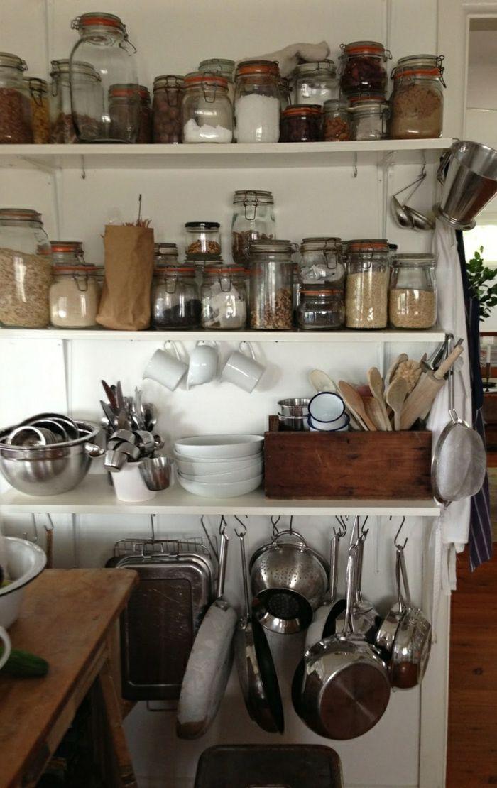 En cuisine l'utile avec style | Les bocaux en verre sont un vrai hit pour la cuisine! Mais comment les ...