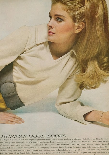 Candice Bergen - classic beauty & I love that 60s hair and makeup