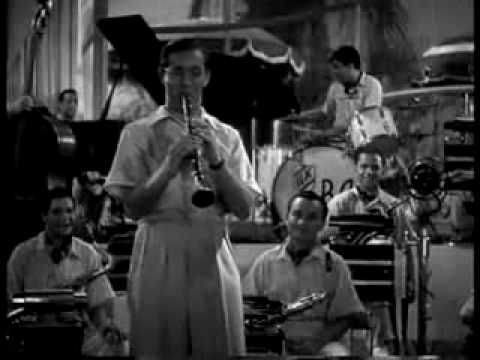 "Benny Goodman Orchestra ""Sing, Sing, Sing"" featuring Gene Krupa-Drums, Harry James-Trumpet from ""Hollywood Hotel"" film (1937)"