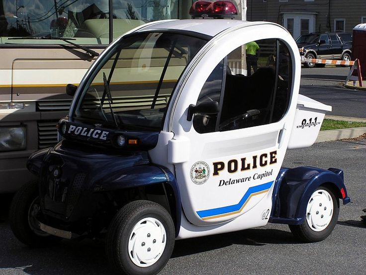 5 of the World's Weirdest Police Cars - UK