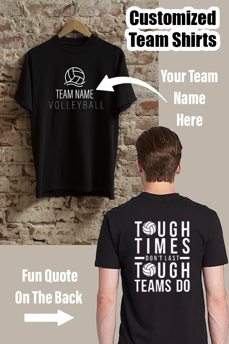 Customized Volleyball Team Shirt In 2020 Volleyball Team Shirts Team Shirts Team Names