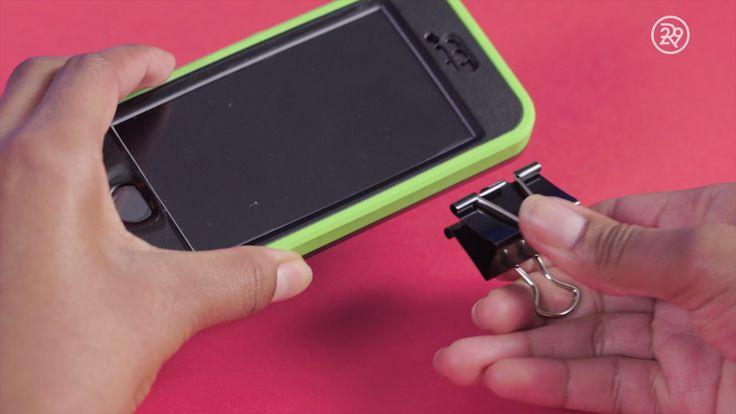 DIY iPhone Tripod