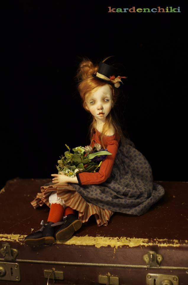Адель (Adele). dolls by Karina Burkatskaya & Denis Shmatov #kardenchiki