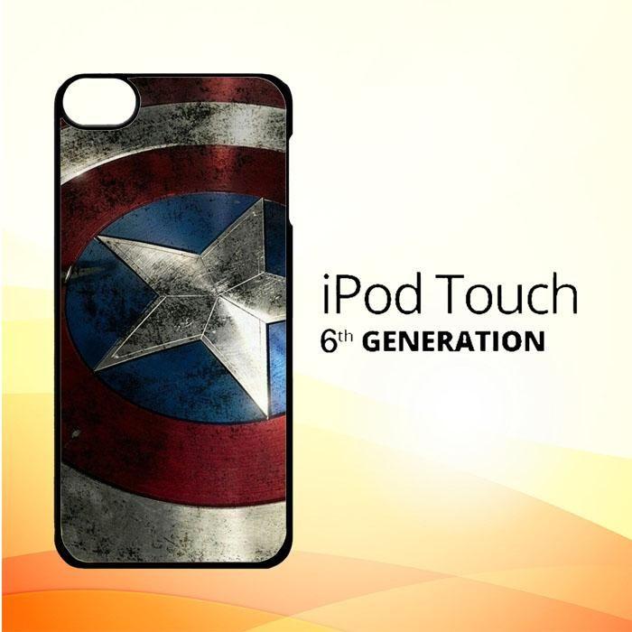 Captain America-0001 O0169 iPod Touch 6 Case