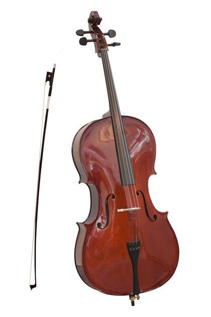 violoncelle, instrument de musique à quatre cordes accordées par quintes, que l'on frotte avec un archet, suffisamment grand pour qu'on en joue assis en le plaçant entre ses jambes, représente la base de la famille des violons. Il démontre la force et la stabilité. Il evoque la créativité et l'accomplissement de ses désirs sensuels. il remue ds les tripes.
