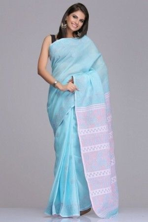 140515013550823612-light-blue-pink-cotton-saree-chikankari.jpg 300×450 pixels