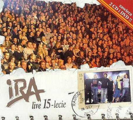 Okładka albumu zespołu IRA 15- lecie