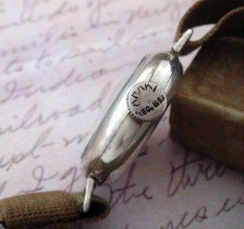 Pentru bărbați 1916 Waltham santului ceas w Box / Original    Strickland Vintage ceasuri