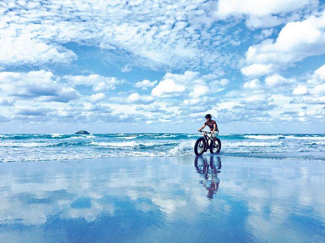 鳥取砂丘ファットバイクツアー