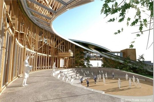 University of Melbourne, National University of Singapore, Mushrooms, Pham Huu Loc, Ng Pui Shan, Hoang Van Anh, Biomimicry, Biophilic, International Tropical Architecture Design Competition, International Green Building Conference, Singapore