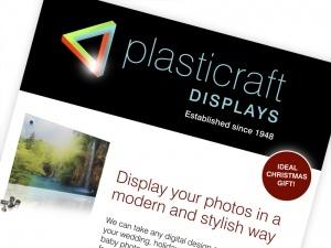 Plasticraft Displays Flyer Design  www.plasticraftdisplays.co.uk