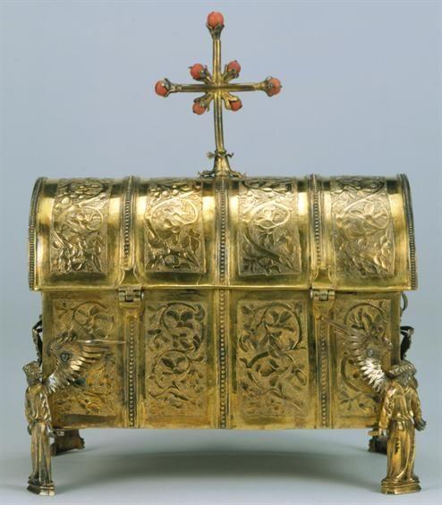 Museu Nacional de Arte Antiga   Arqueta   Século XV