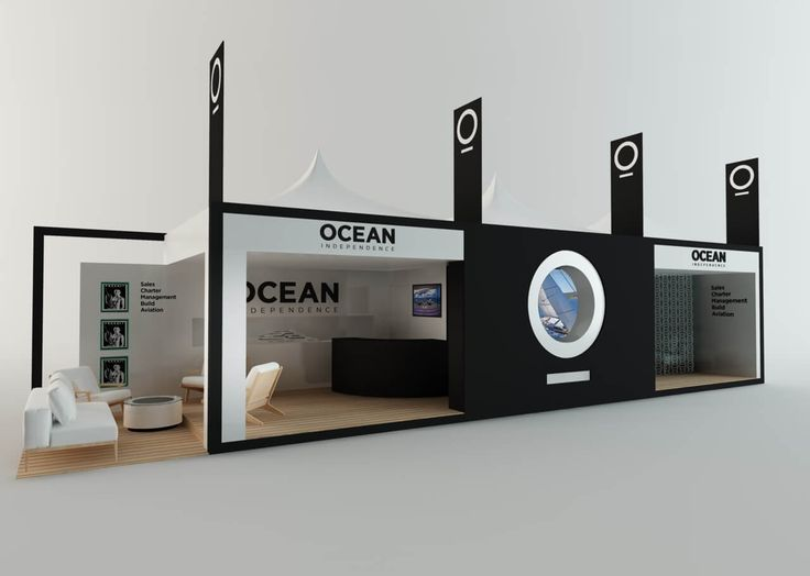 Exhibition stand design - Ocean Independence