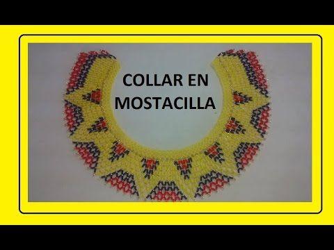 COLLAR COLOMBIA EN MOSTACILLA - YouTube