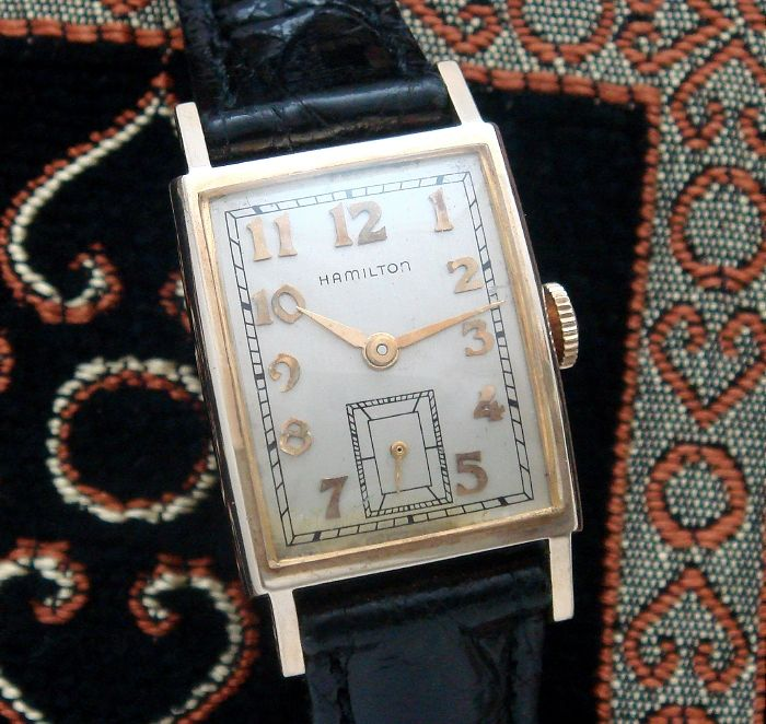 Men's Vintage Watch:1953 Hamilton Dress Wristwatch | Strickland Vintage Watches