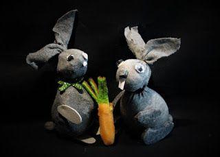 Ideas art for everyone, DIY - Joanna Wajdenfeld: How to make a bunny with socks