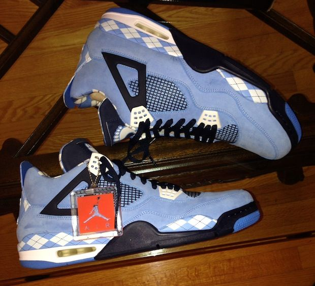 Being in the North Carolina basketball circle has its perks, especially if  you like exclusive Air Jordans. The Air Jordan 4