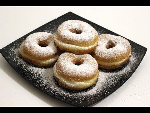 Krofne recept - Donut - Krapfen - YouTube