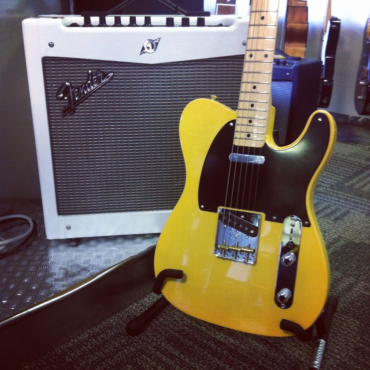#TeleTuesday. We love this Fender UK & ROI #American Vintage 52' Telecaster in this Butterscotch Blonde. A re-issued authentic vintage original spec tele from the 1950s. Try it out at Guitarbitz Guitar Shop or shop online... http://www.guitarbitz.com/guitars-c48/electric-guitars-c57/fender-american-vintage-52-telecaster-p2404