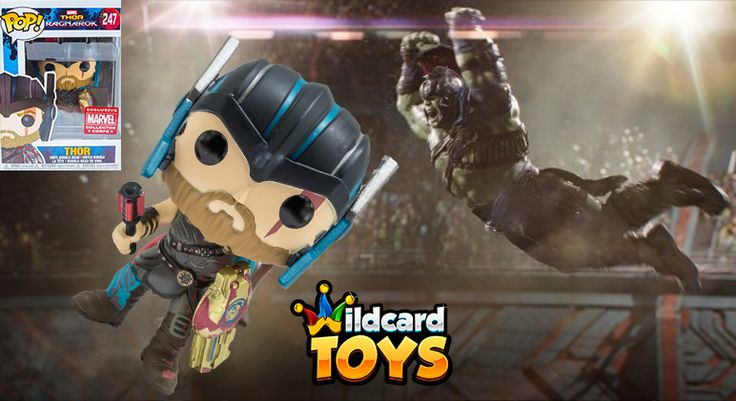 Wildcard Toys - Funko POP! Thor Ragnarok - Marvel Exclusive Vinyl Bobble Head  http://cashflowdiary.com/giveaways/black-friday-mastermind-giveaway/?lucky=7675  #Giveaway  Ends in 3 days!