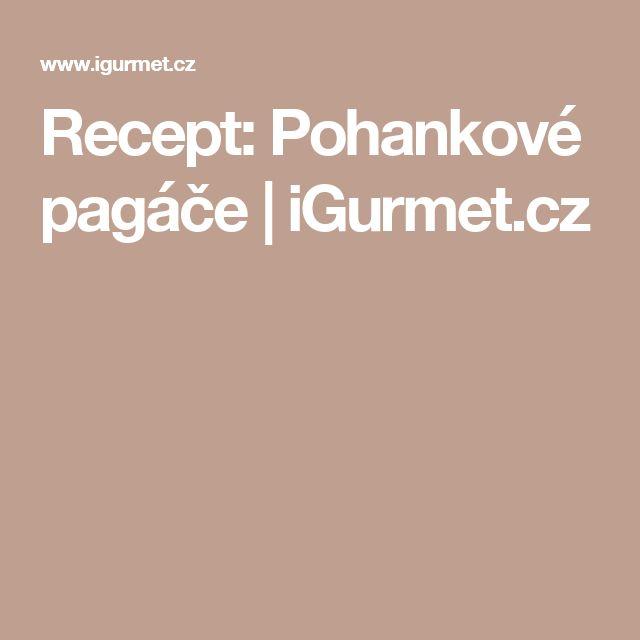 Recept: Pohankové pagáče | iGurmet.cz