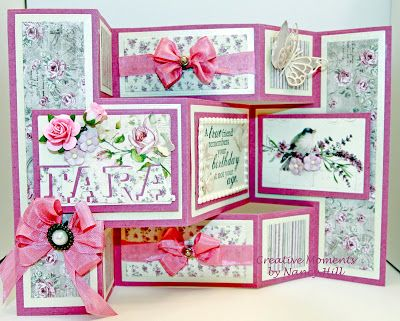 Best TriFold Shutter Cards Images On   Folded Cards