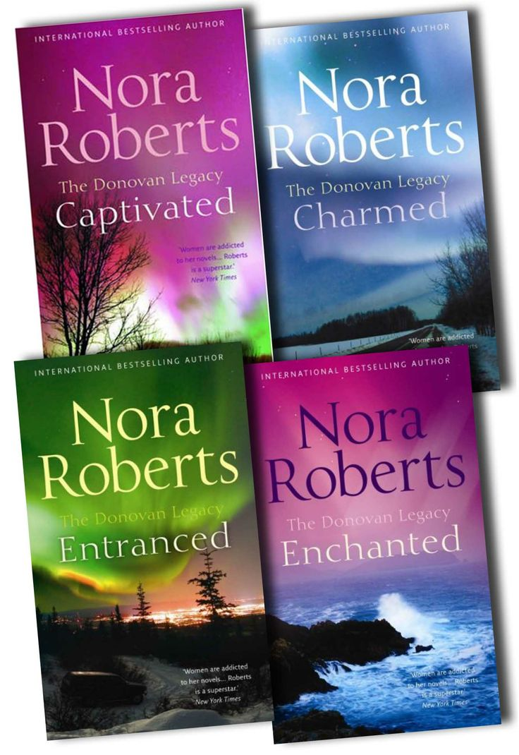 Donovan Legacy Collection Pack Nora Roberts 4 Books Set