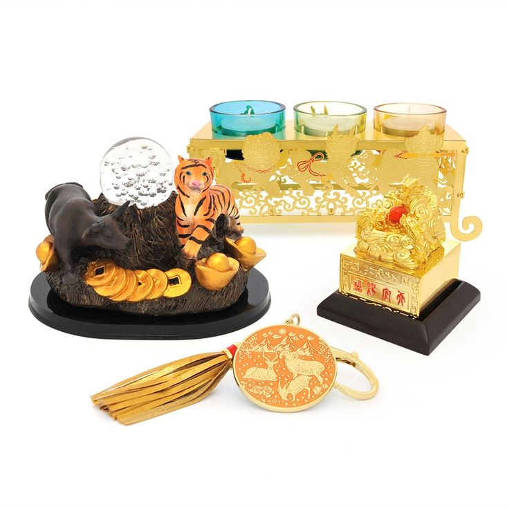 2015 HOROSCOPE KIT FOR TIGER  This kit includes:  Annual Spring Amulet for 2015 Tiger & Ox Crystal Ball 3 Celestial Yang Metal Cure Dragon Heaven Seal FREE Jade Cicada
