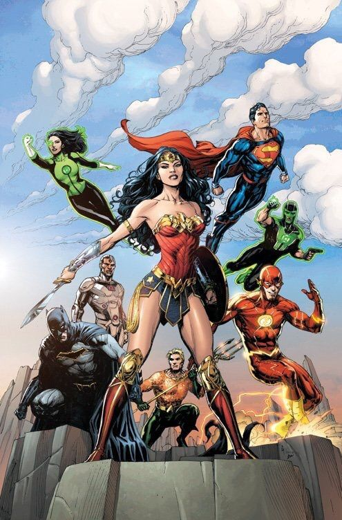 #Justice #League #Fan #Art. (Justice League #1 Variant Cover) By: Gary Frank. (THE * 5 * STÅR * ÅWARD * OF: * AW YEAH, IT'S MAJOR ÅWESOMENESS!!!™)[THANK U 4 PINNING!!!<·><]<©>ÅÅÅ+(OB4E)   https://s-media-cache-ak0.pinimg.com/564x/de/d3/ba/ded3ba4514f9a0c14981734031aeac26.jpg