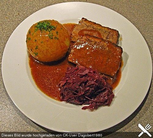 Fränkischer Landfrauen Sauerbraten, ein schmackhaftes Rezept aus der Kategorie Rind. Bewertungen: 24. Durchschnitt: Ø 4,5.