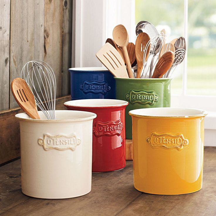 25 Best Ideas About Utensil Holder On Pinterest Kitchen Utensil Holder Mason Jar Kitchen