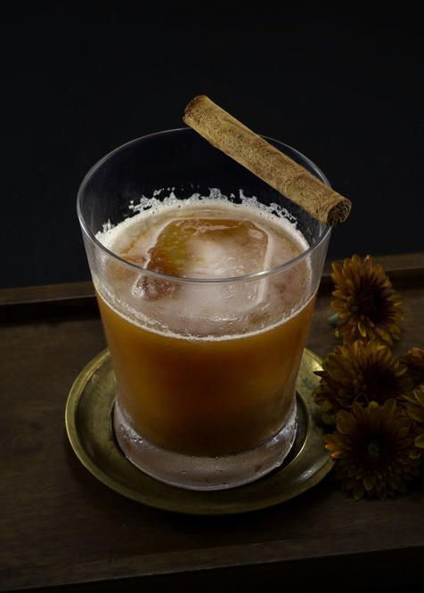 Vampire Blues   Tuxedo no.2   bourbon, sherry, lemon, pumpkin butter, angostura bitters