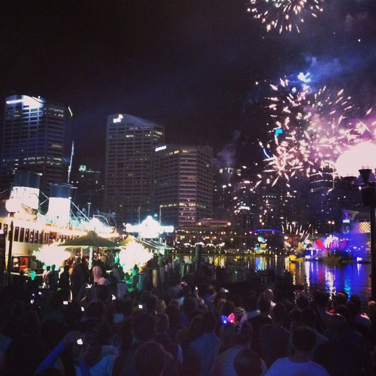 Darling harbour, Australia Day. Such amazing fireworks!!