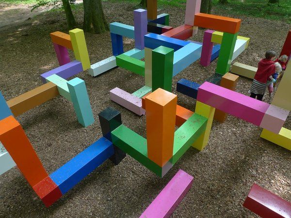 Playscapes - Primary Structure from Jacob Dahlgren, Wanås Sweden