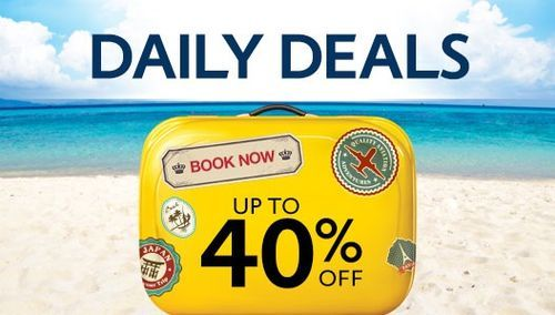 Expedia Daily Deals Get Up to 40% Off on Your Travel & Hotel Booking  Expedia HK provide 40% Discount on your Hotels booking and Flight booking in Hong Kong. This offer is valid for limited period only. Get Expedia discount code and promotion code from #Paylesser Hong Kong and enjoy discount at Expedia Hotels + Flight Booking.