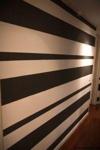 Las 25 mejores ideas sobre paredes de rayas horizontales en pinterest paredes rayadas - Rayas horizontales en paredes ...