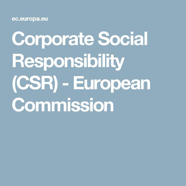 11 best csv creating shared value images on pinterest circular corporate social responsibility csr european commission fandeluxe Images