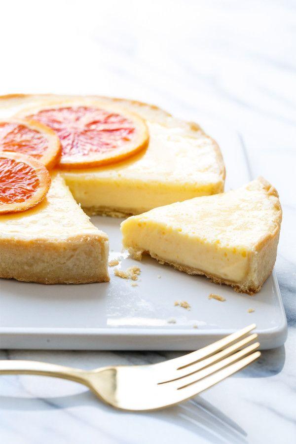 Orange Blossom Almond Cream Tart for Two