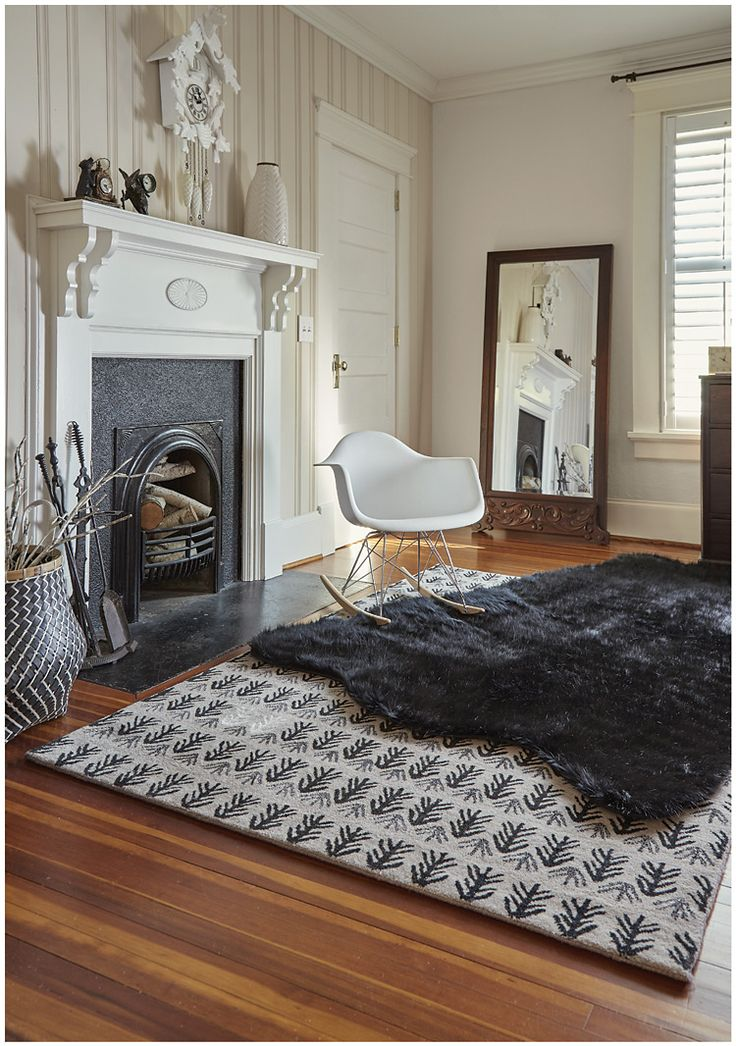 Sticks Raven Wool Transitional Capel Rugs And Genevieve Gorder Collection