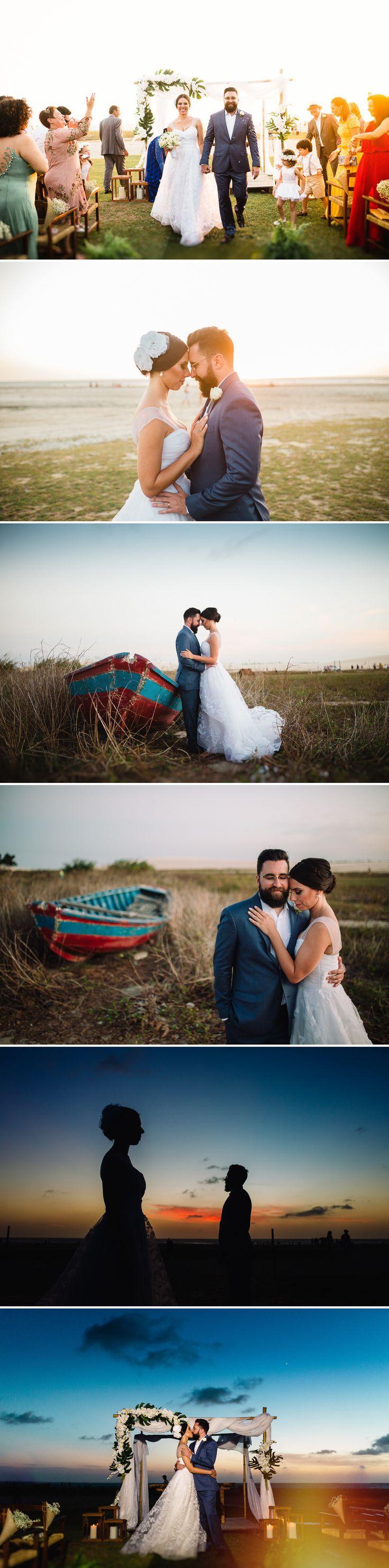 Casamento em Jericoacoara. Destination Wedding em Jeri. Fotos do casamento por Arthur Rosa. Praia de Jericoacora - Brasil