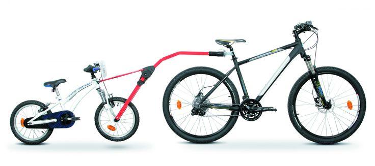 Barra de remolque Tandem Peruzzo Trail Angel para bicicleta de niño. ¡La forma más fácil y divertida de aprender a montar en bici!. Hasta el Jueves con un 24% de descuento.  En tu tienda online de ciclismo, Running y Triathlon, Lobiks.com.