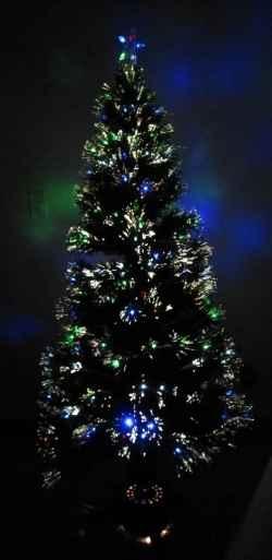 4 Foot Fiber Optic Christmas Tree
