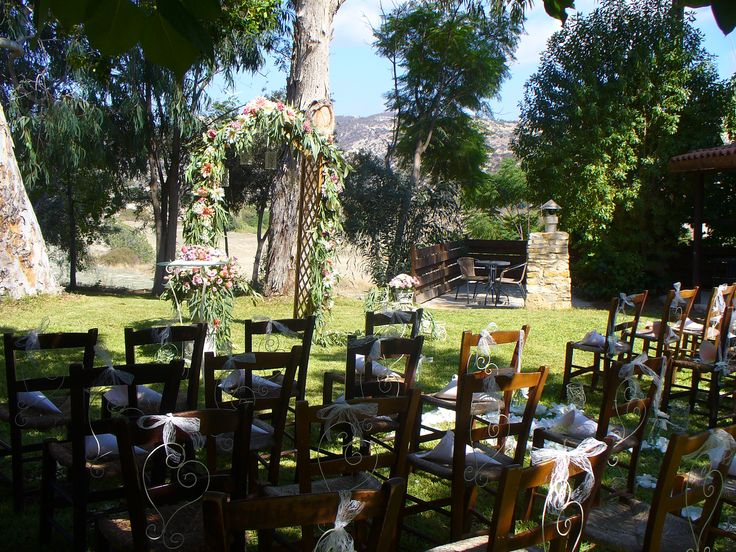 A Perfect Garden Setting For Your Wedding In Cyprus