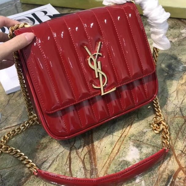 3d865bc229f0a Saint Laurent Vicky Bag 100% Authentic 80% Off