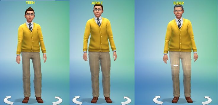 Mod The Sims - (Deprecated! See description for info)Height Slider ...
