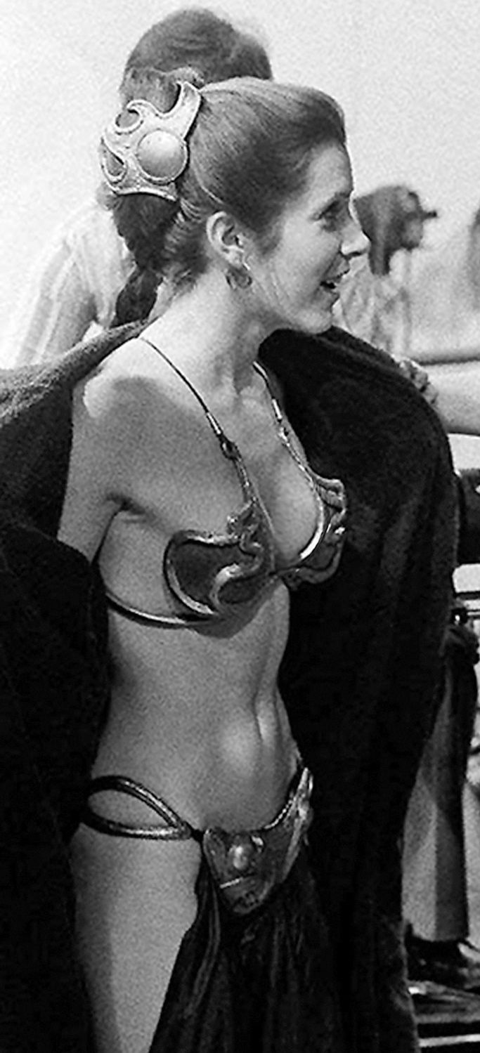 Return of the Jedi Slave Leia Scene - YouTube