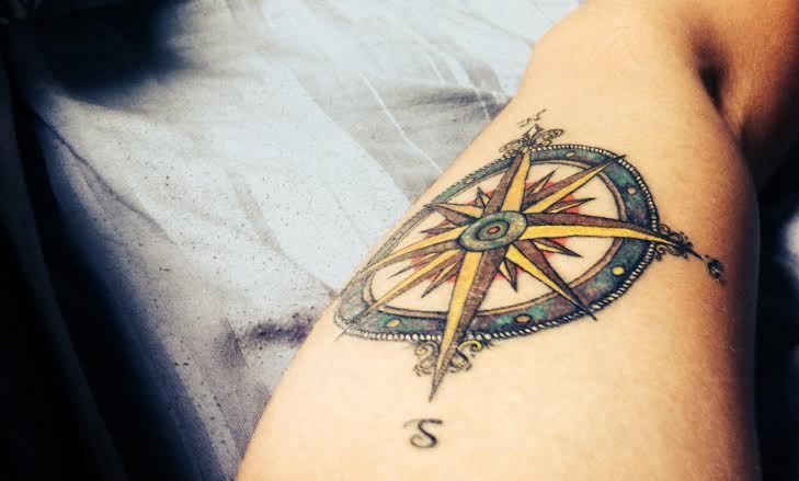 Wind Rose Tatto | Tattoo | Pinterest | Wind rose and Roses