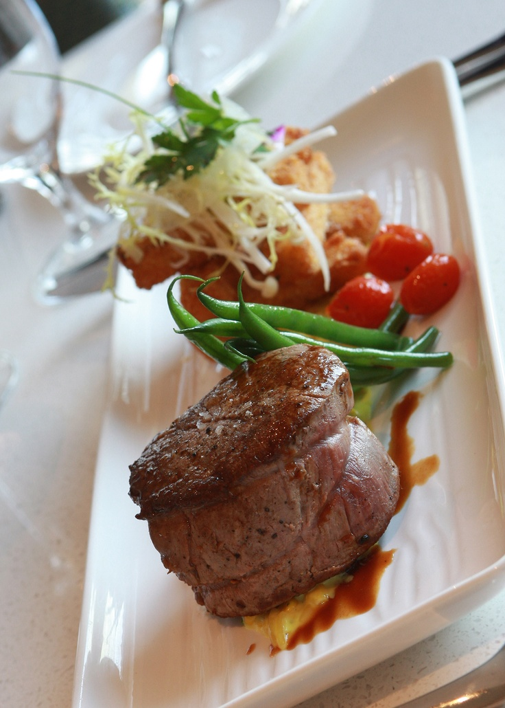 Filet of Beef Pretty Plating